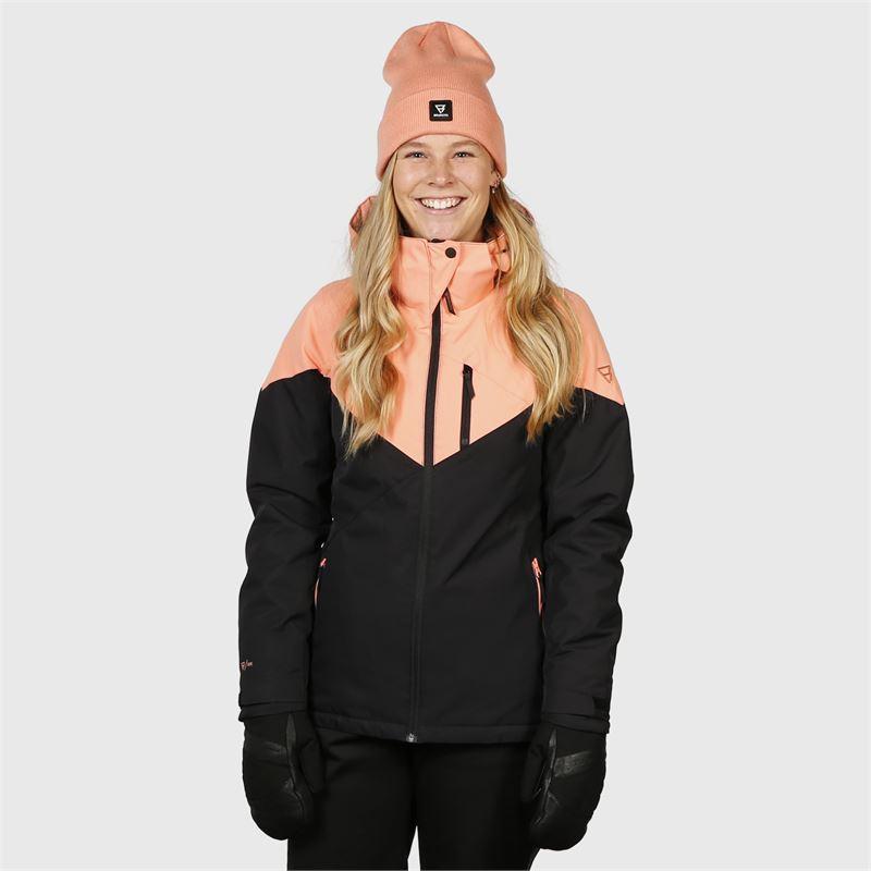 Brunotti Sheerwater  (roze) - dames ski-jassen - Brunotti online shop