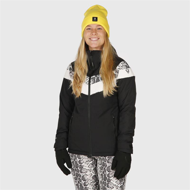 Brunotti Leilana  (wit) - dames ski-jassen - Brunotti online shop
