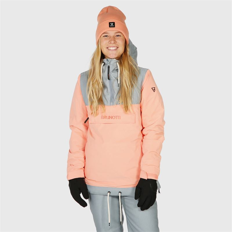Brunotti Rey  (pink) - women snow jackets - Brunotti online shop