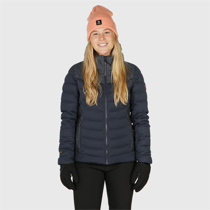 Brunotti Jaciano-Denim  (blue) - women snow jackets - Brunotti online shop