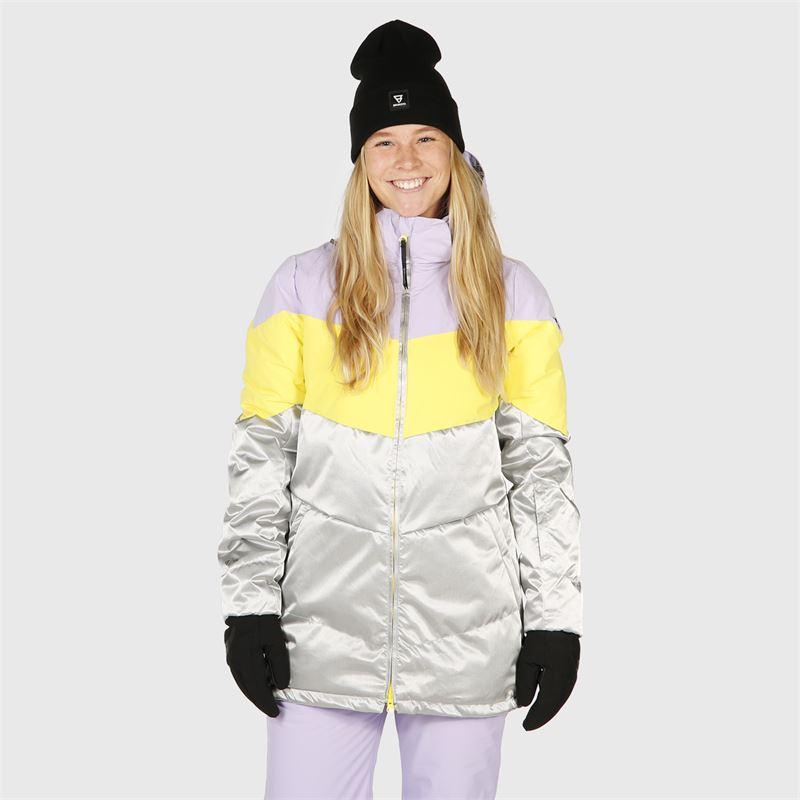 Brunotti Okalani  (paars) - dames ski-jassen - Brunotti online shop