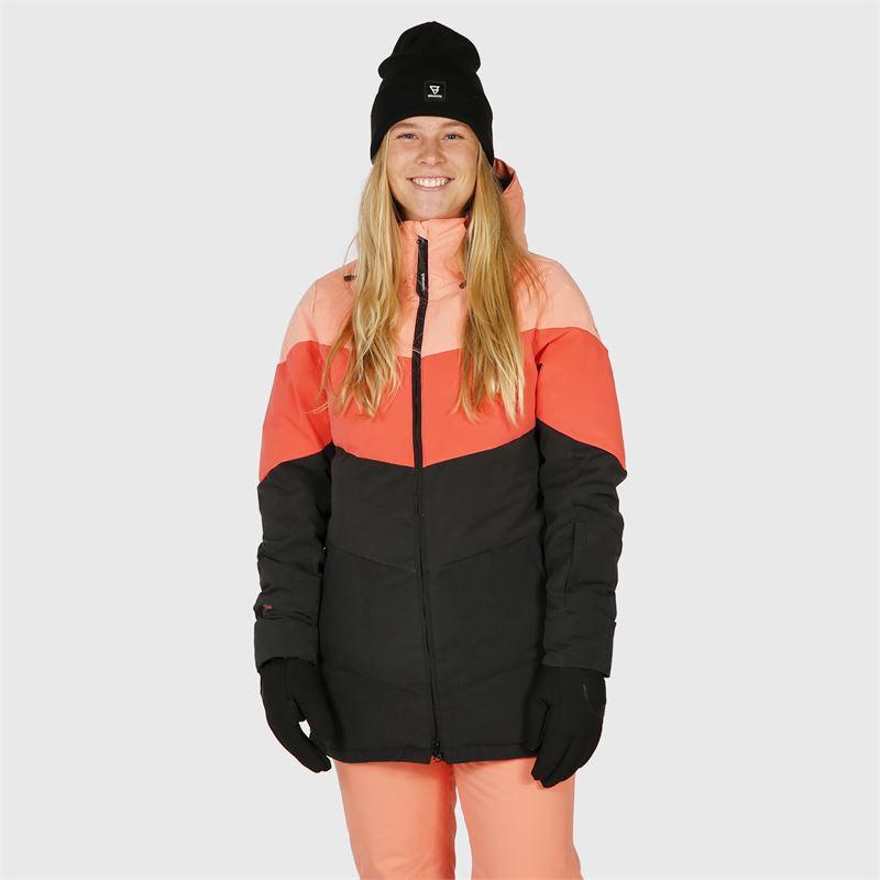 Brunotti Okalani  (roze) - dames ski-jassen - Brunotti online shop