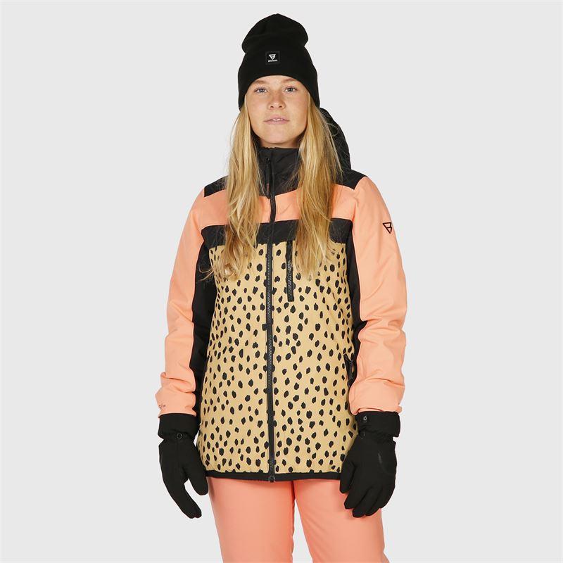 Brunotti Ealan  (beige) - women snow jackets - Brunotti online shop