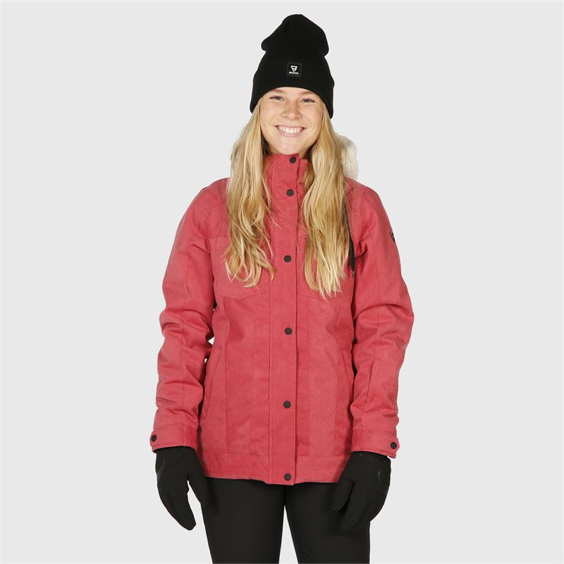 Brunotti Tessa  (pink) - women snow jackets - Brunotti online shop