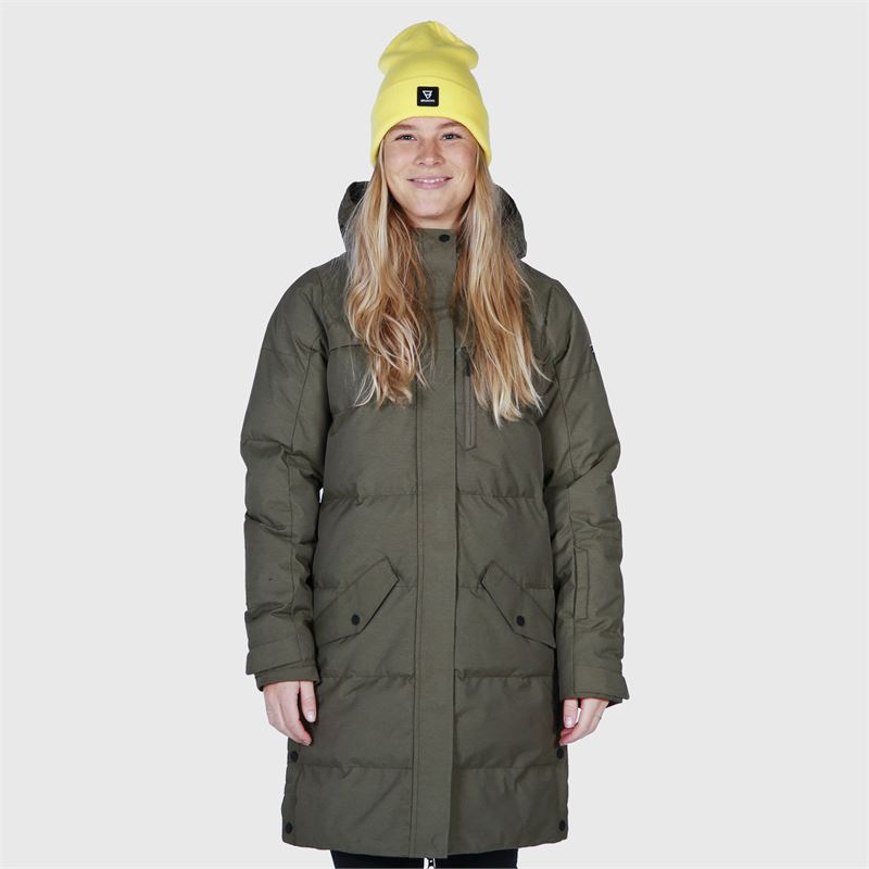 Brunotti Ailani  (green) - women casual jackets - Brunotti online shop