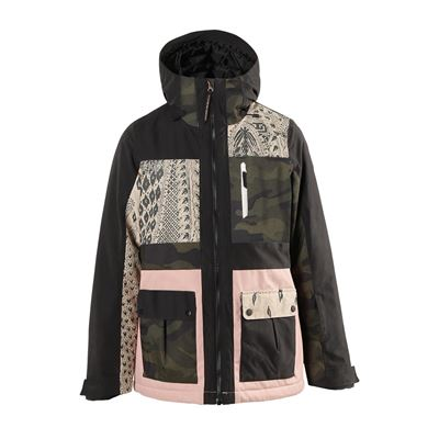 Brunotti Kalei-Patchwork Women Snowjacket. Available in: XS,S,M,L,XL,XXL (2022123322-099)