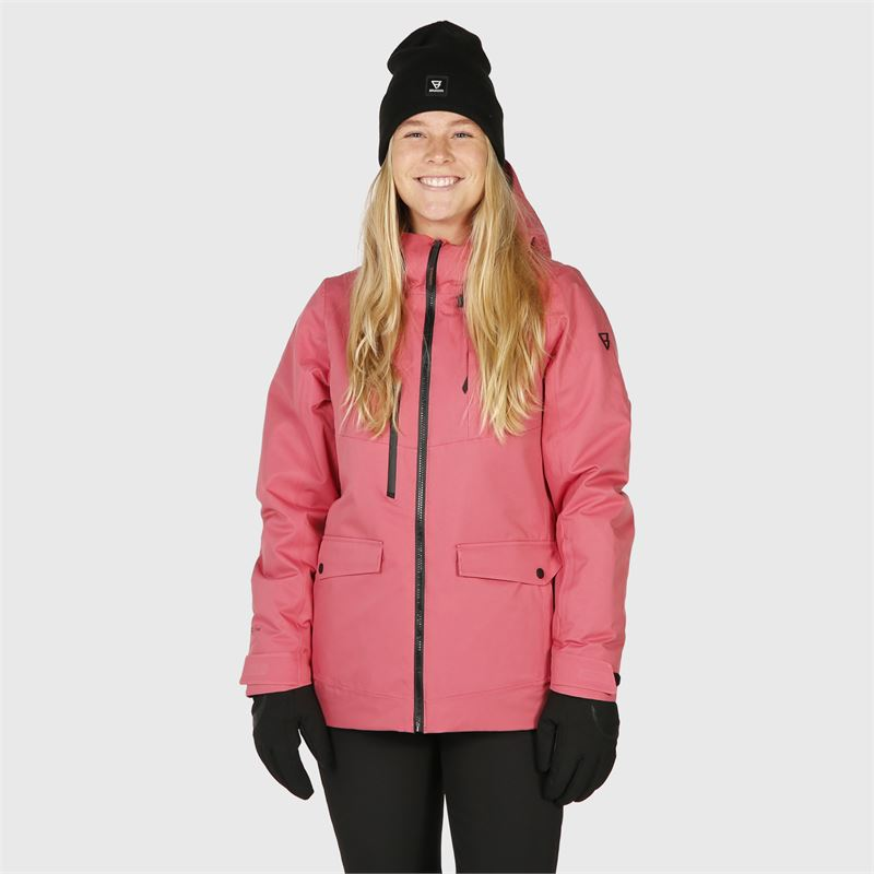 Brunotti Moala  (pink) - women snow jackets - Brunotti online shop