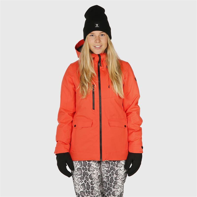 Brunotti Moala  (rood) - dames ski-jassen - Brunotti online shop