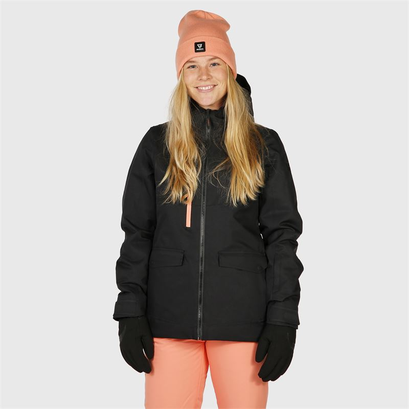 Brunotti Moala  (black) - women snow jackets - Brunotti online shop
