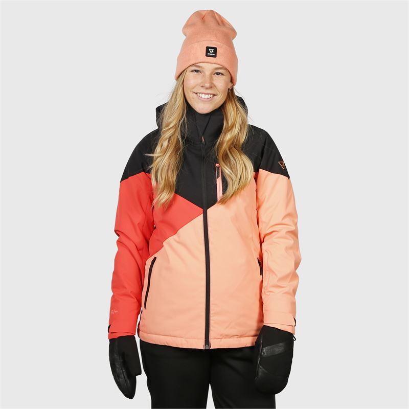 Brunotti Sheerwater-S  (red) - women snow jackets - Brunotti online shop
