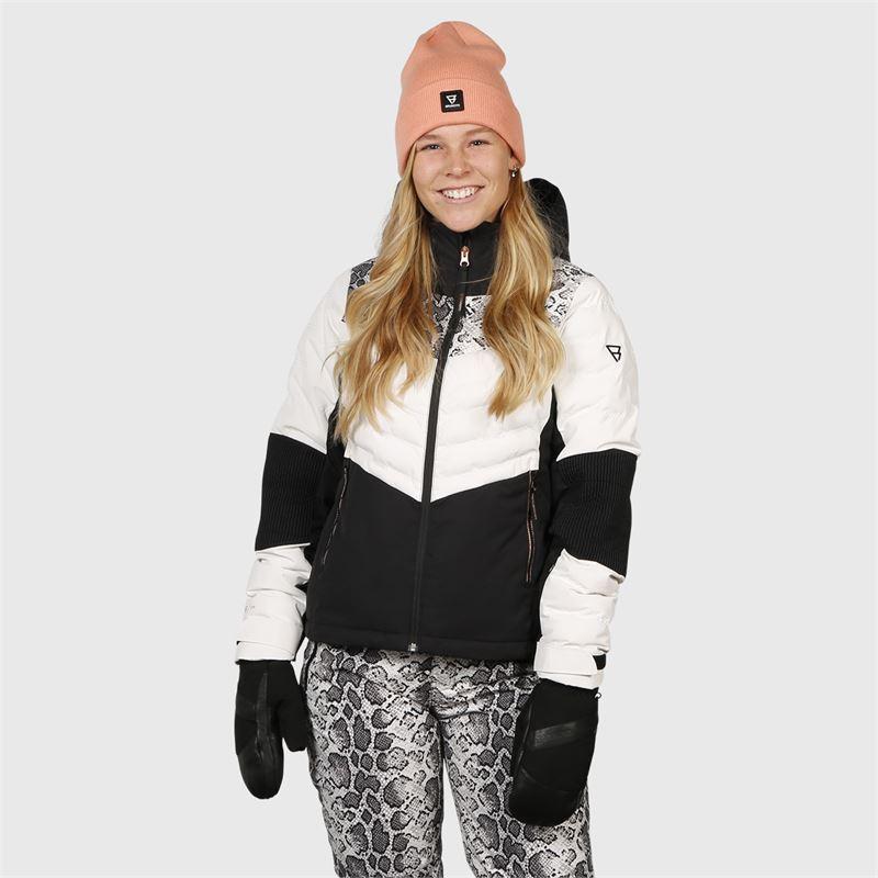 Brunotti Coronet  (wit) - dames ski-jassen - Brunotti online shop