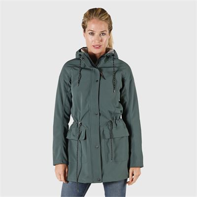 Brunotti Mirja Women Softshelljacket. Beschikbaar in XS,S,M,L,XL,XXL (2022124347-0746)