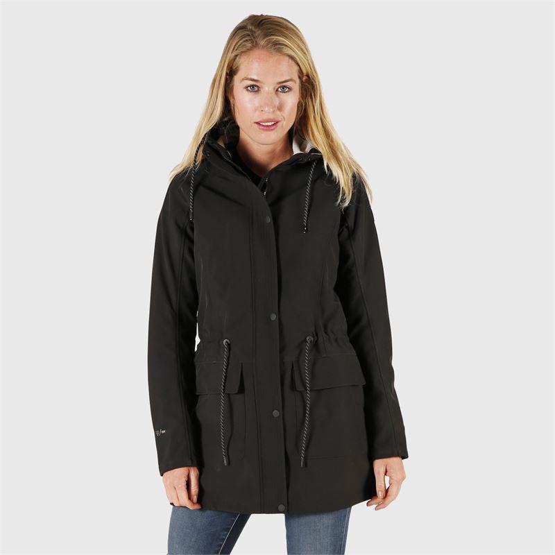 Brunotti Mirja  (zwart) - dames casual jassen - Brunotti online shop