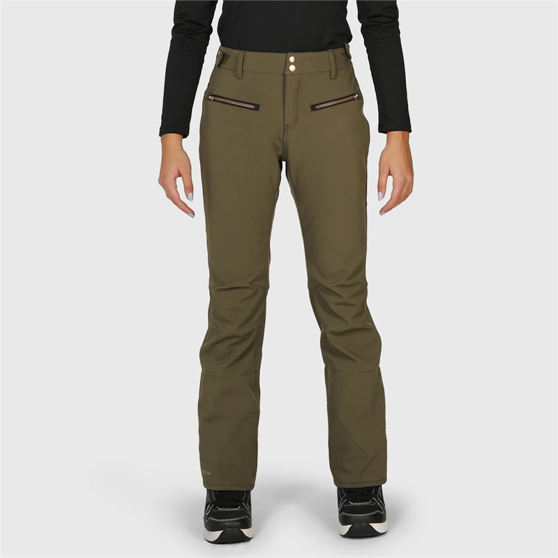 Brunotti Silverlake-N  (groen) - dames skibroeken - Brunotti online shop