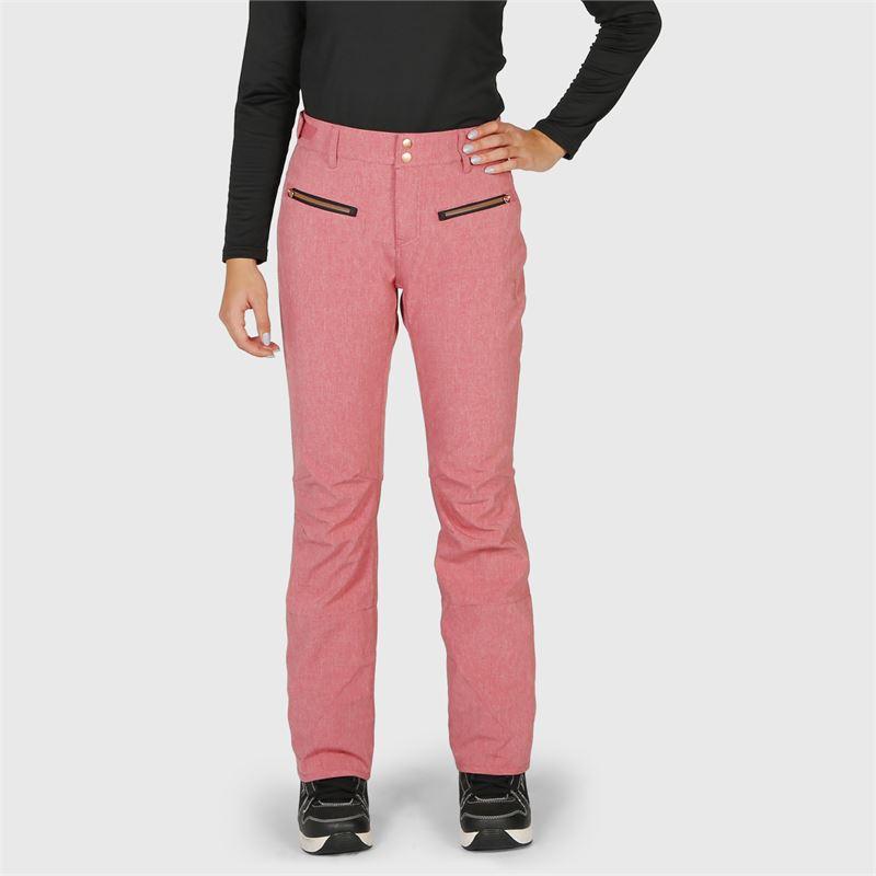 Brunotti Silverlake-Melange  (pink) - women snow pants - Brunotti online shop