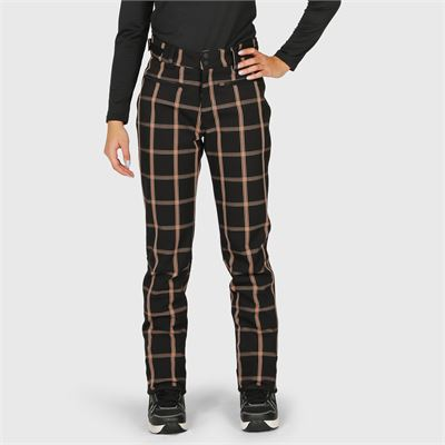 Brunotti Francolina-Check Women Softshellpant. Verfügbar in XS,S,M,L,XL,XXL (2022125397-099)
