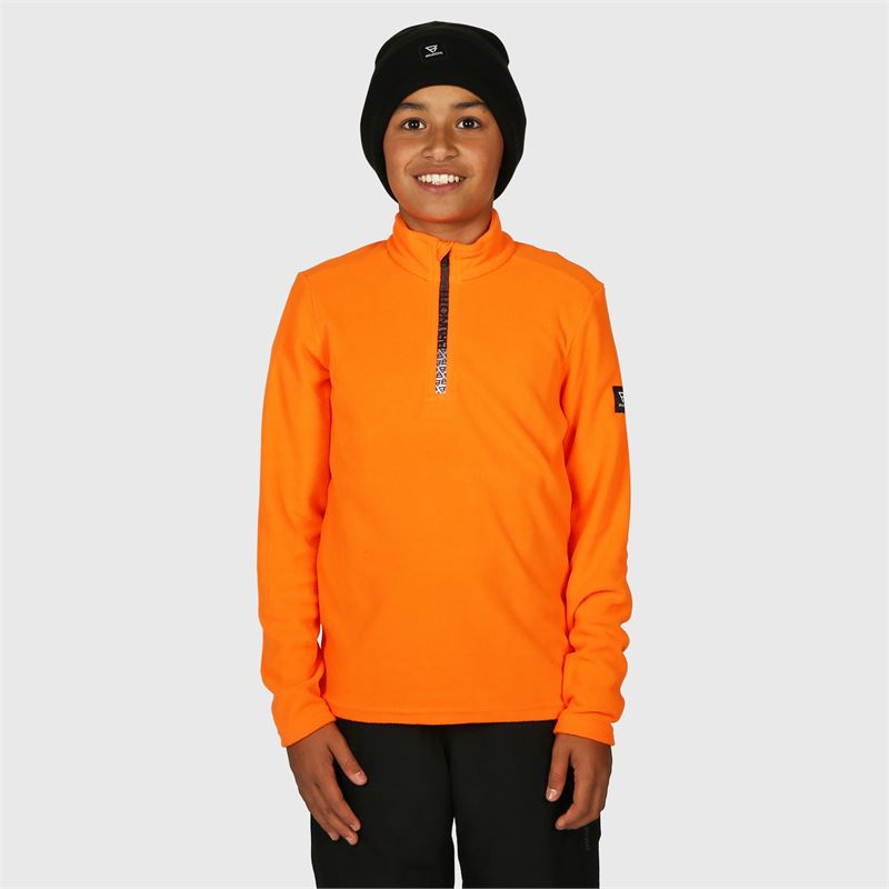 Brunotti Tenno-JR  (orange) - jungen fleeces - Brunotti online shop