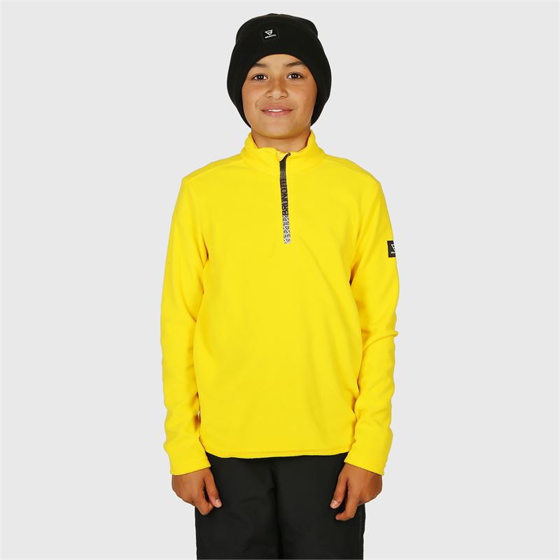 Brunotti Tenno  (yellow) - boys fleeces - Brunotti online shop