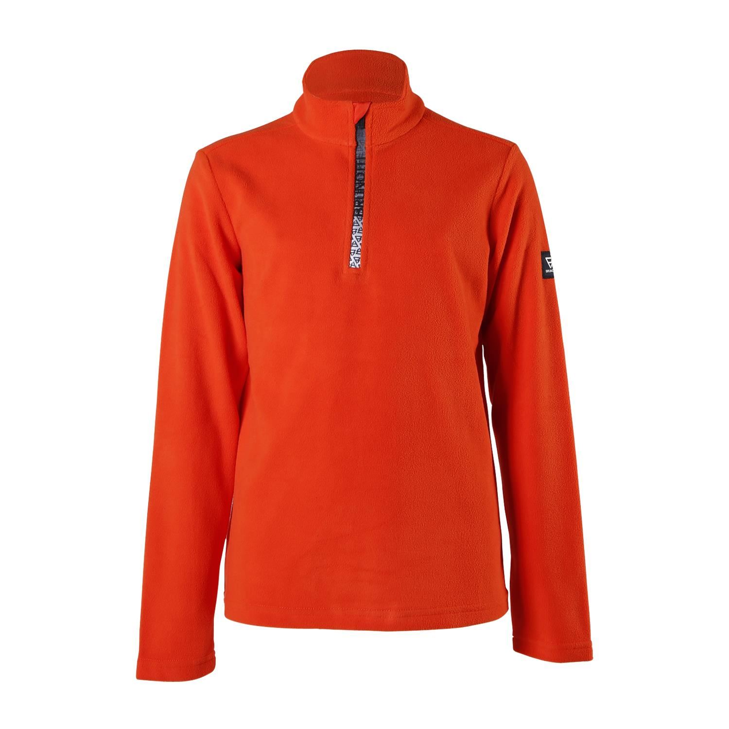 Brunotti Tenno-JR  (rood) - jongens fleeces - Brunotti online shop