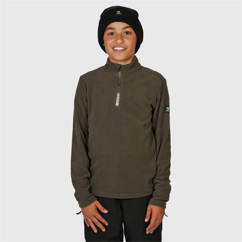 Brunotti Tenno-JR  (grijs) - jongens fleeces - Brunotti online shop