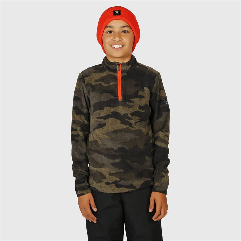 Brunotti Stewart-JR  (grau) - jungen fleeces - Brunotti online shop