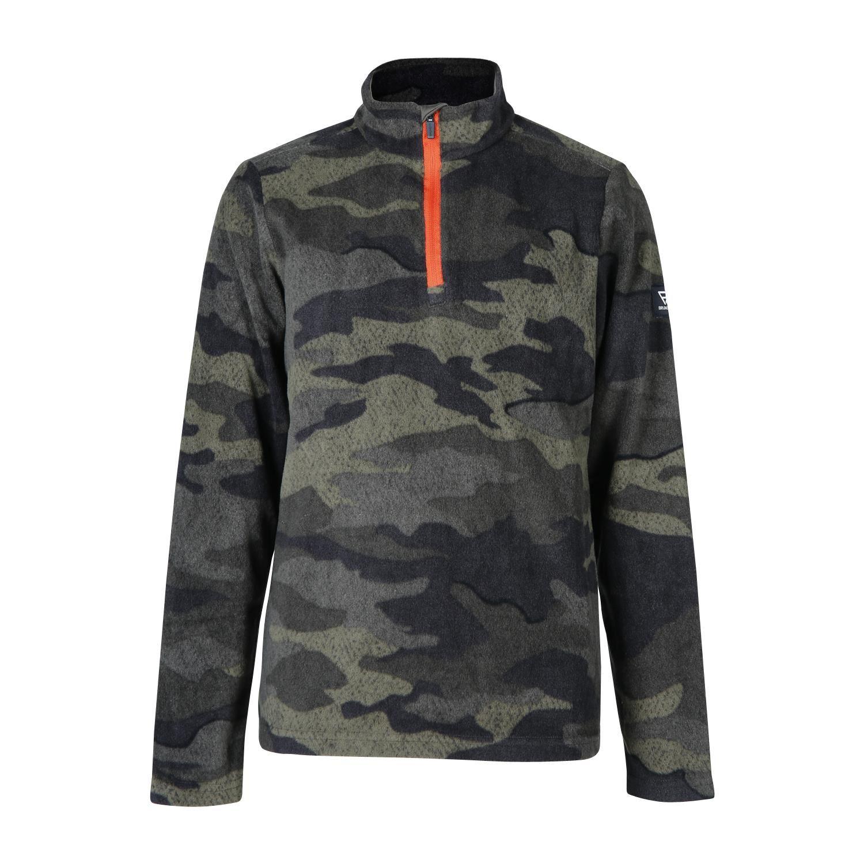 Brunotti Stewart-JR  (grijs) - jongens fleeces - Brunotti online shop