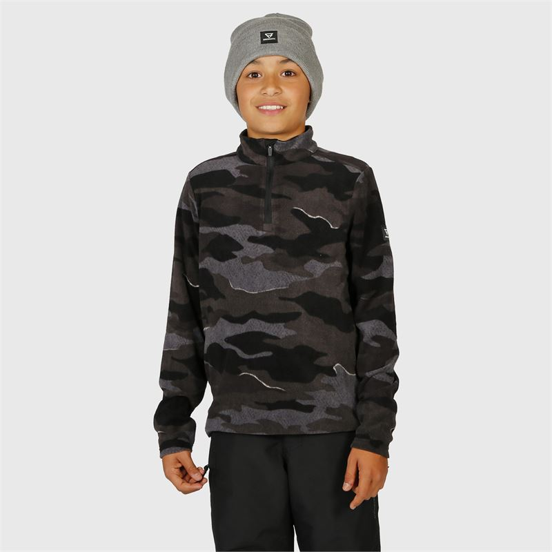 Brunotti Stewart-JR  (black) - boys fleeces - Brunotti online shop
