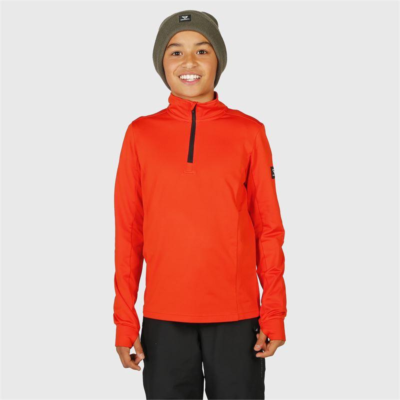 Brunotti Terni-JR  (rood) - jongens fleeces - Brunotti online shop