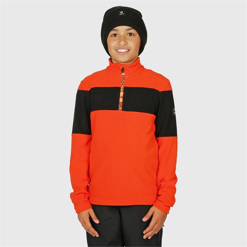 Brunotti Vaughn-JR  (rot) - jungen fleeces - Brunotti online shop