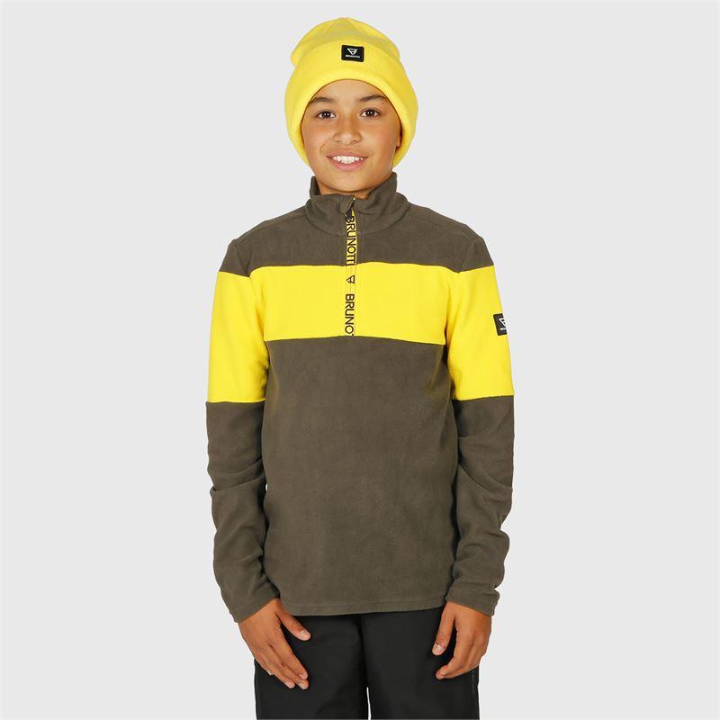 Brunotti Vaughn-JR  (grau) - jungen fleeces - Brunotti online shop