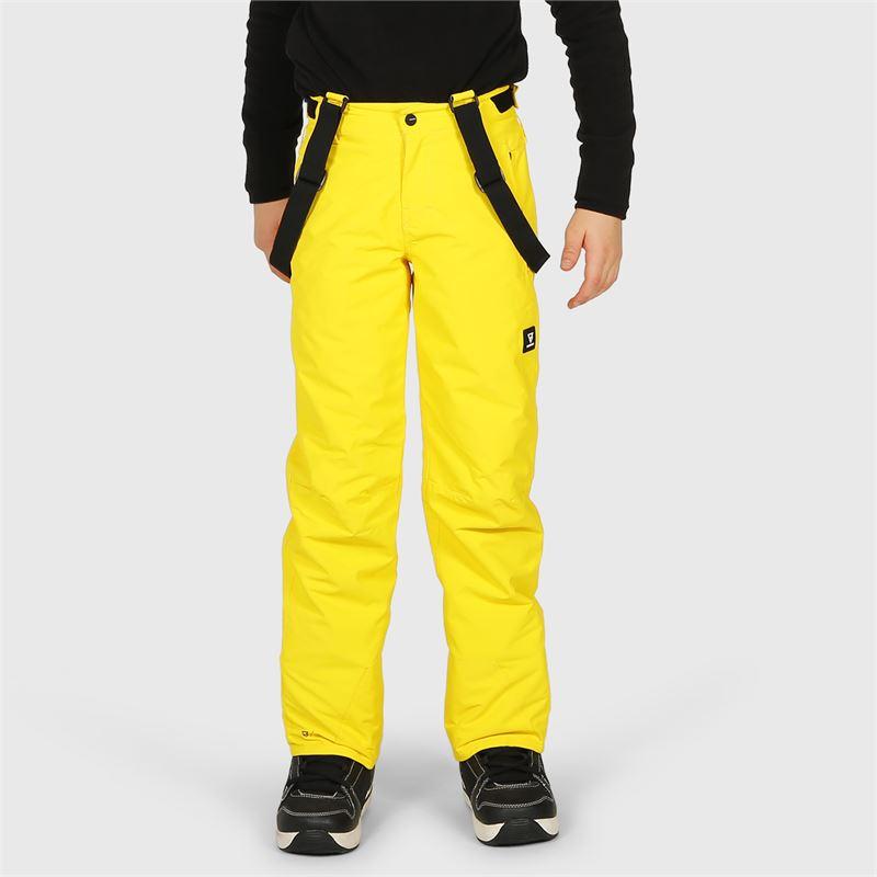 Brunotti Footstrap-JR  (yellow) - boys snow pants - Brunotti online shop