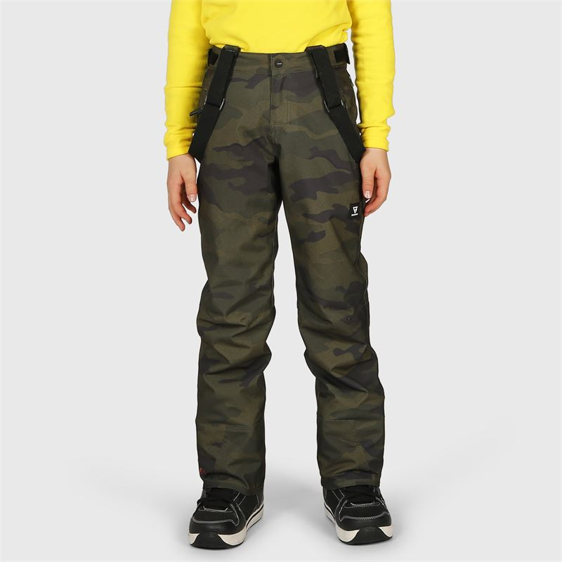 Brunotti Footstrap-AO-JR  (grey) - boys snow pants - Brunotti online shop