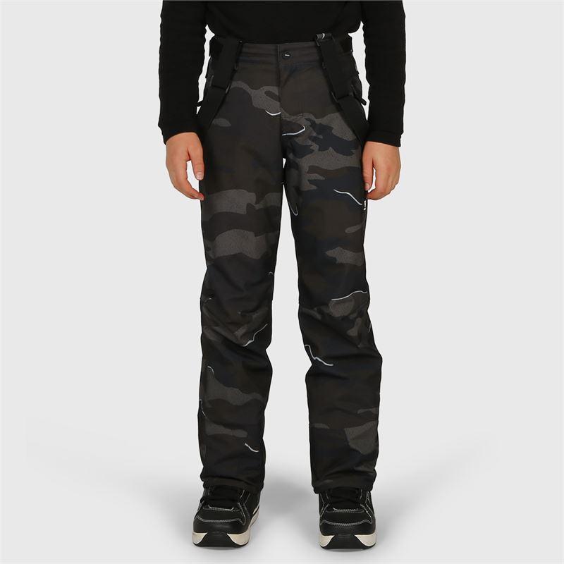 Brunotti Footstrap-AO-JR  (zwart) - jongens skibroeken - Brunotti online shop