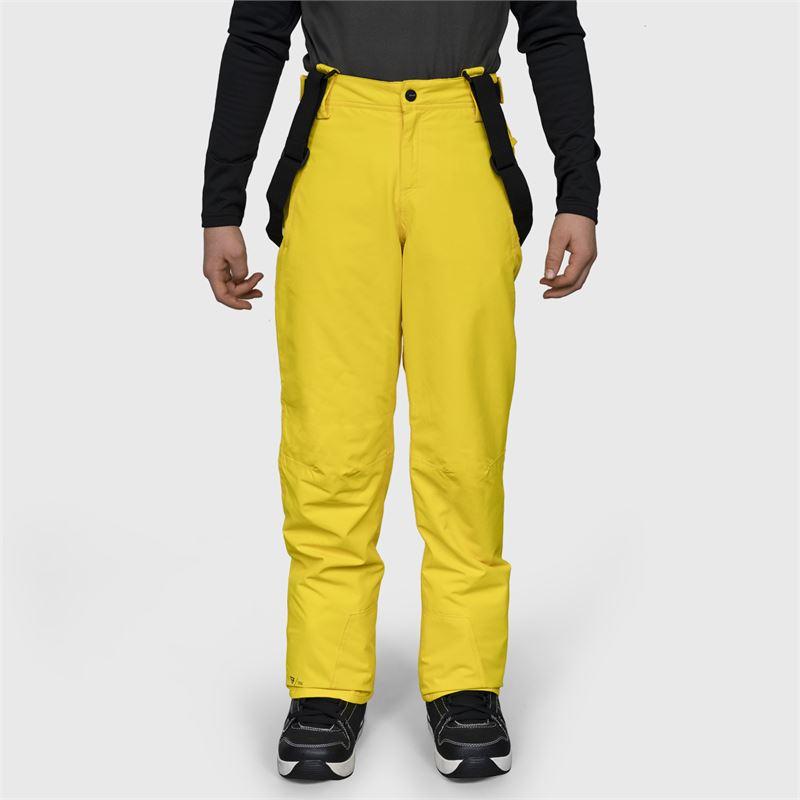 Brunotti Jiro-JR-S  (geel) - jongens skibroeken - Brunotti online shop