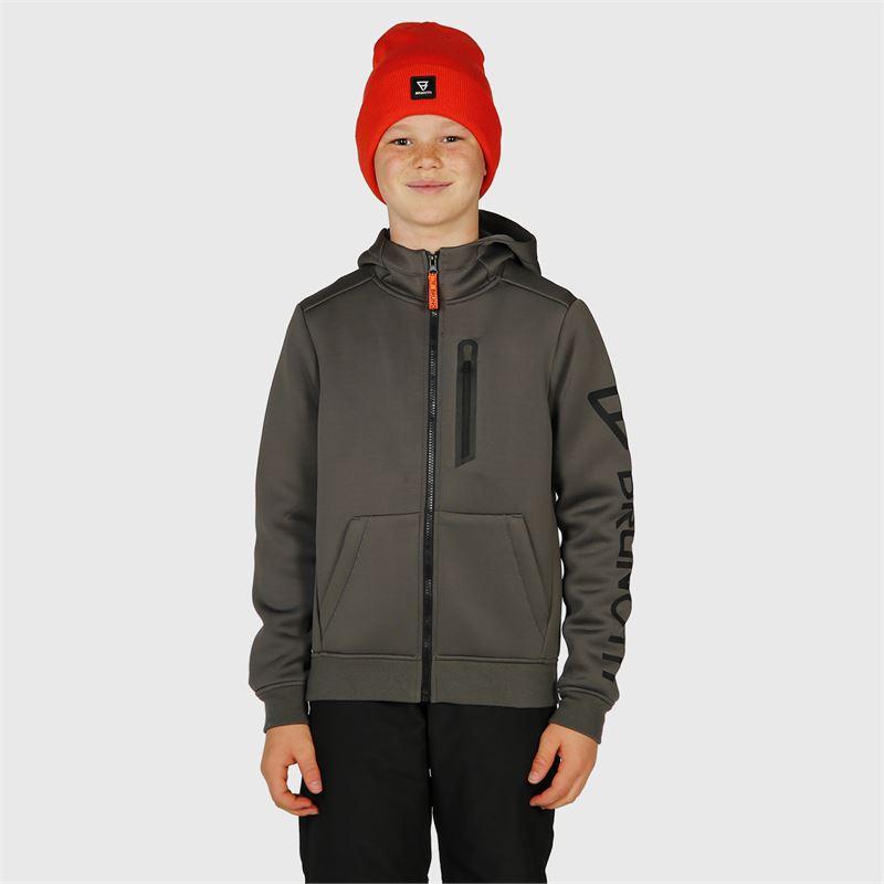 Brunotti Staggy-JR  (grijs) - jongens casual jassen - Brunotti online shop