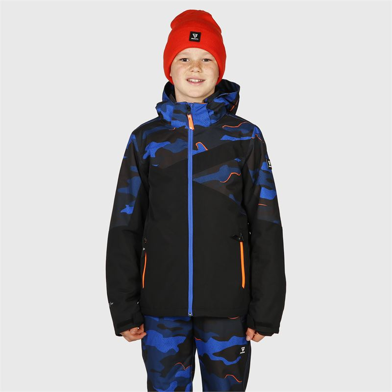 Brunotti Pander-AO-JR  (blue) - boys snow jackets - Brunotti online shop