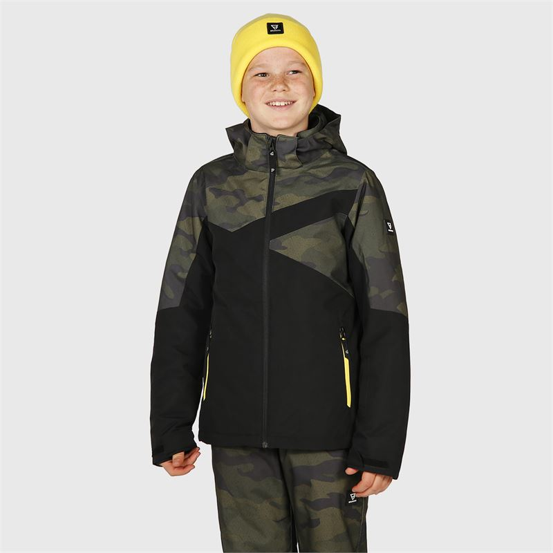 Brunotti Pander-AO-JR  (grey) - boys snow jackets - Brunotti online shop