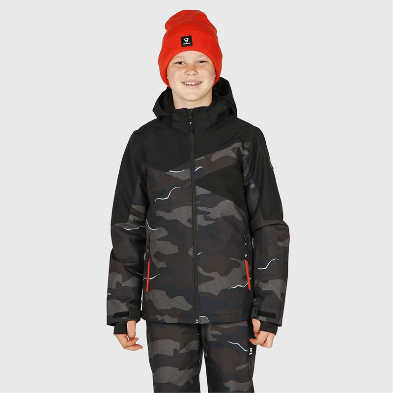Brunotti Pander-AO-JR  (black) - boys snow jackets - Brunotti online shop