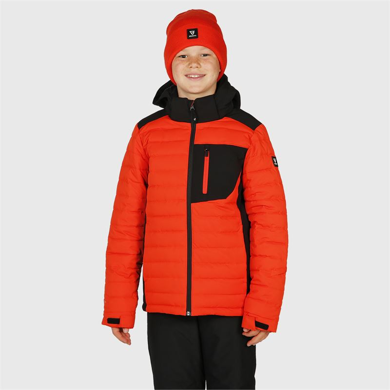 Brunotti Trysail-JR  (red) - boys snow jackets - Brunotti online shop