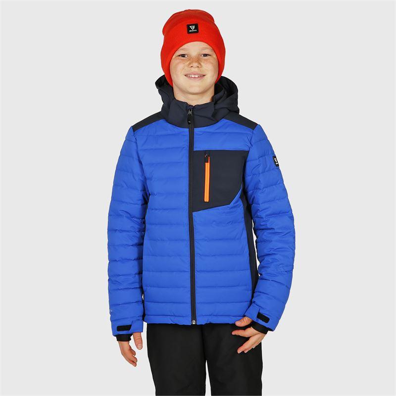 Brunotti Trysail-JR  (blauw) - jongens ski-jassen - Brunotti online shop