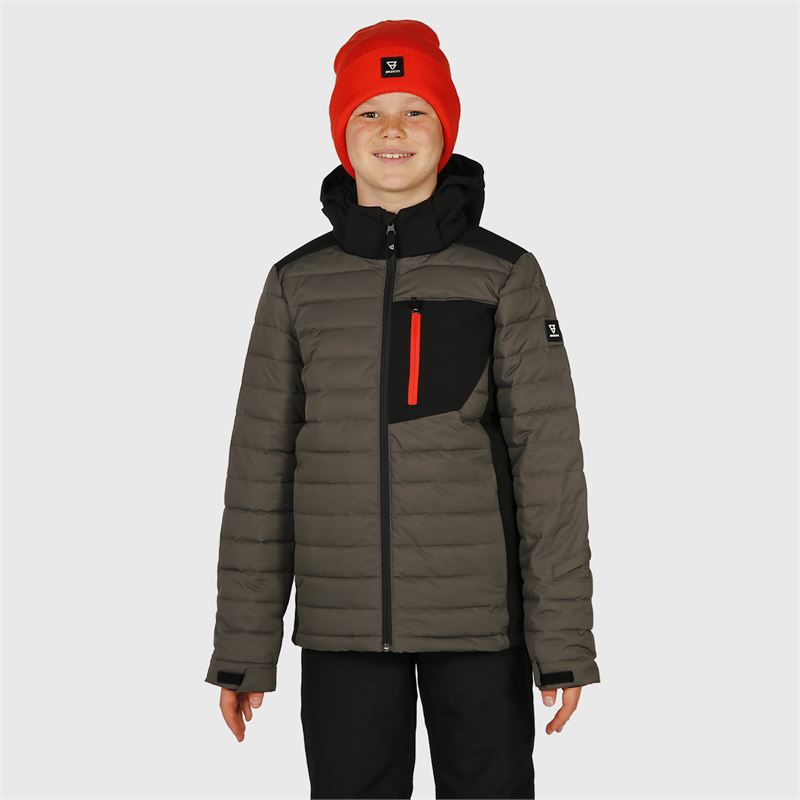 Brunotti Trysail-JR  (grey) - boys snow jackets - Brunotti online shop