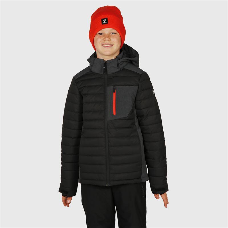 Brunotti Trysail-JR  (schwarz) - jungen skijacken - Brunotti online shop