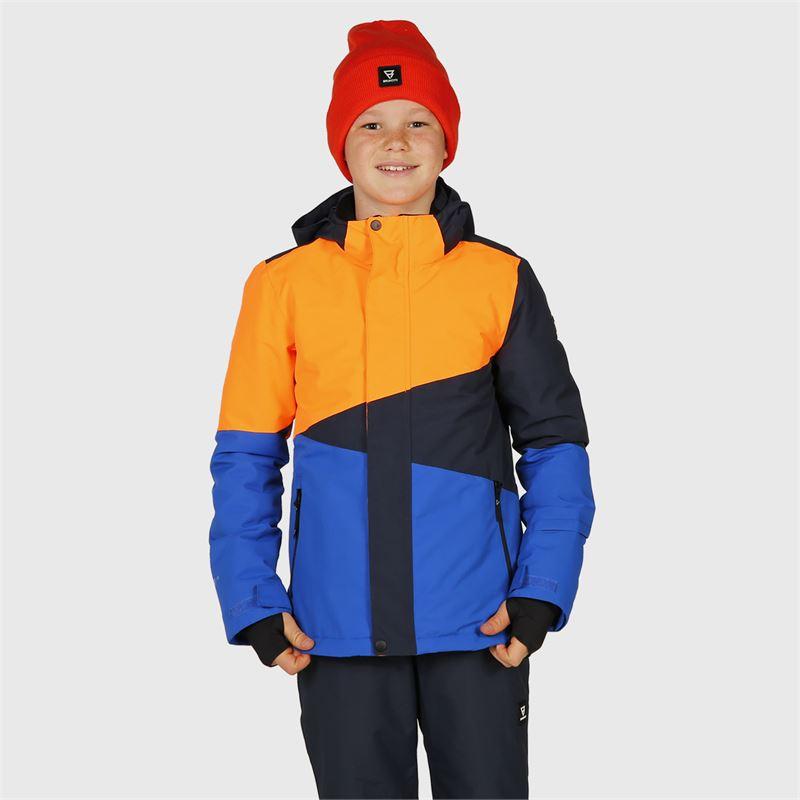 Brunotti Idaho-JR  (orange) - boys snow jackets - Brunotti online shop