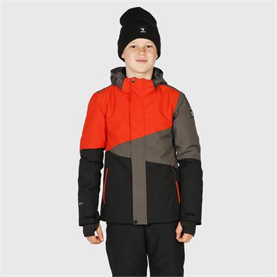 Brunotti Idaho-JR Boys Snowjacket. Beschikbaar in 116,128,140,152,164,176 (2023123509-099)