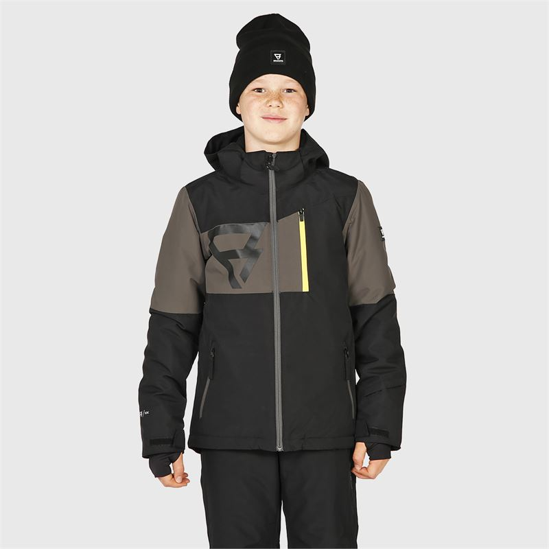 Brunotti Dakoto-JR  (grey) - boys snow jackets - Brunotti online shop