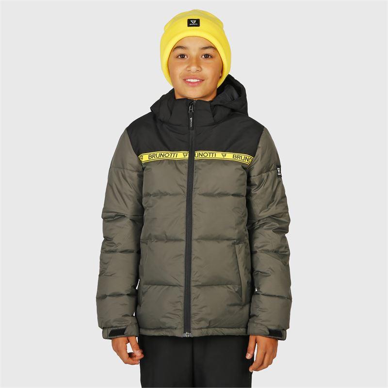 Brunotti Rolf-JR  (grey) - boys snow jackets - Brunotti online shop
