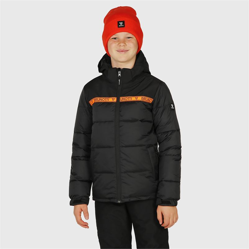 Brunotti Rolf-JR  (black) - boys snow jackets - Brunotti online shop