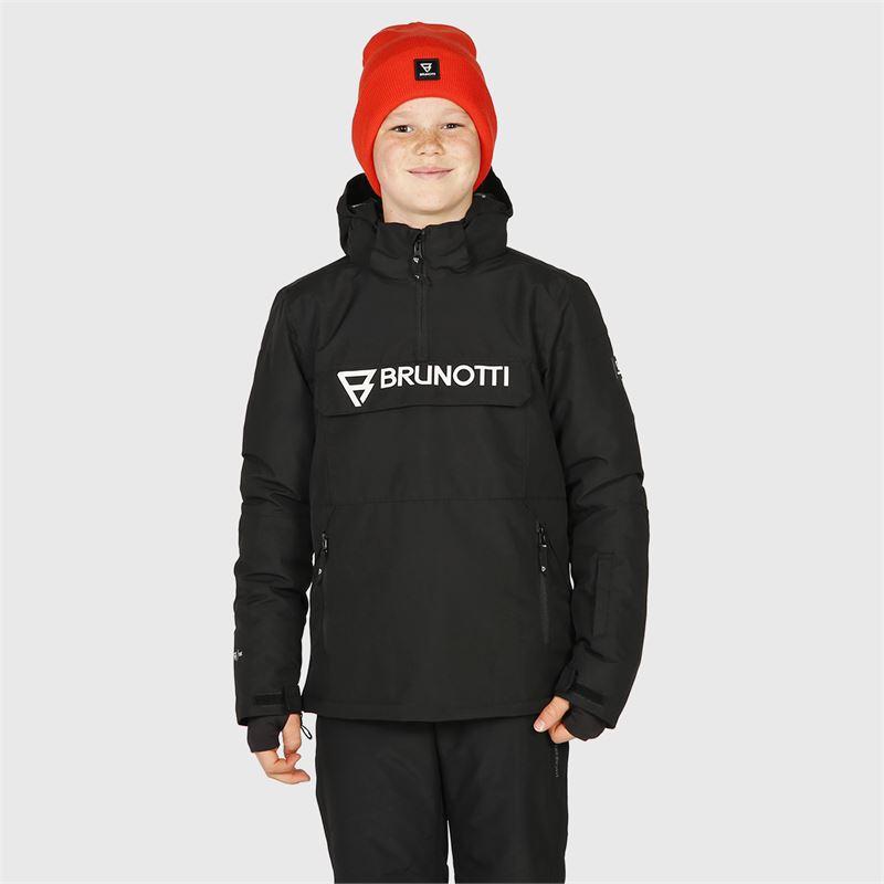 Brunotti Orin-JR  (schwarz) - jungen skijacken - Brunotti online shop