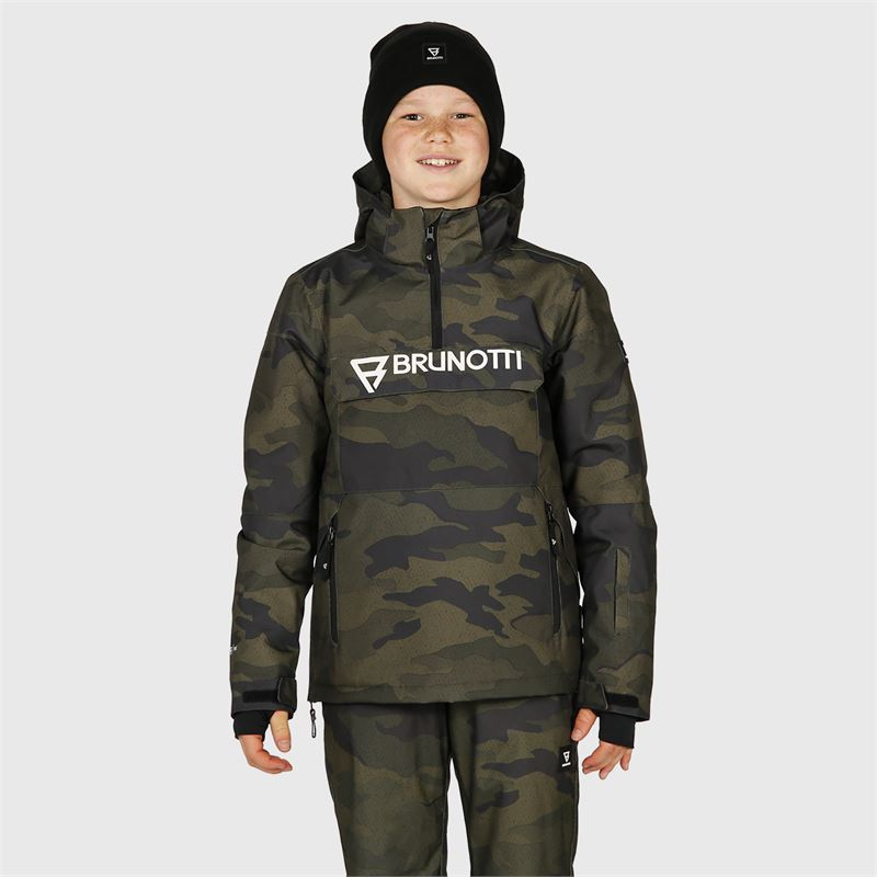 Brunotti Orin-JR-AO  (grey) - boys snow jackets - Brunotti online shop