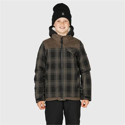 Brunotti Bowen-Check-JR Boys Snowjacket. Verfügbar in 116,128,140,152,164,176 (2023123525-0930)
